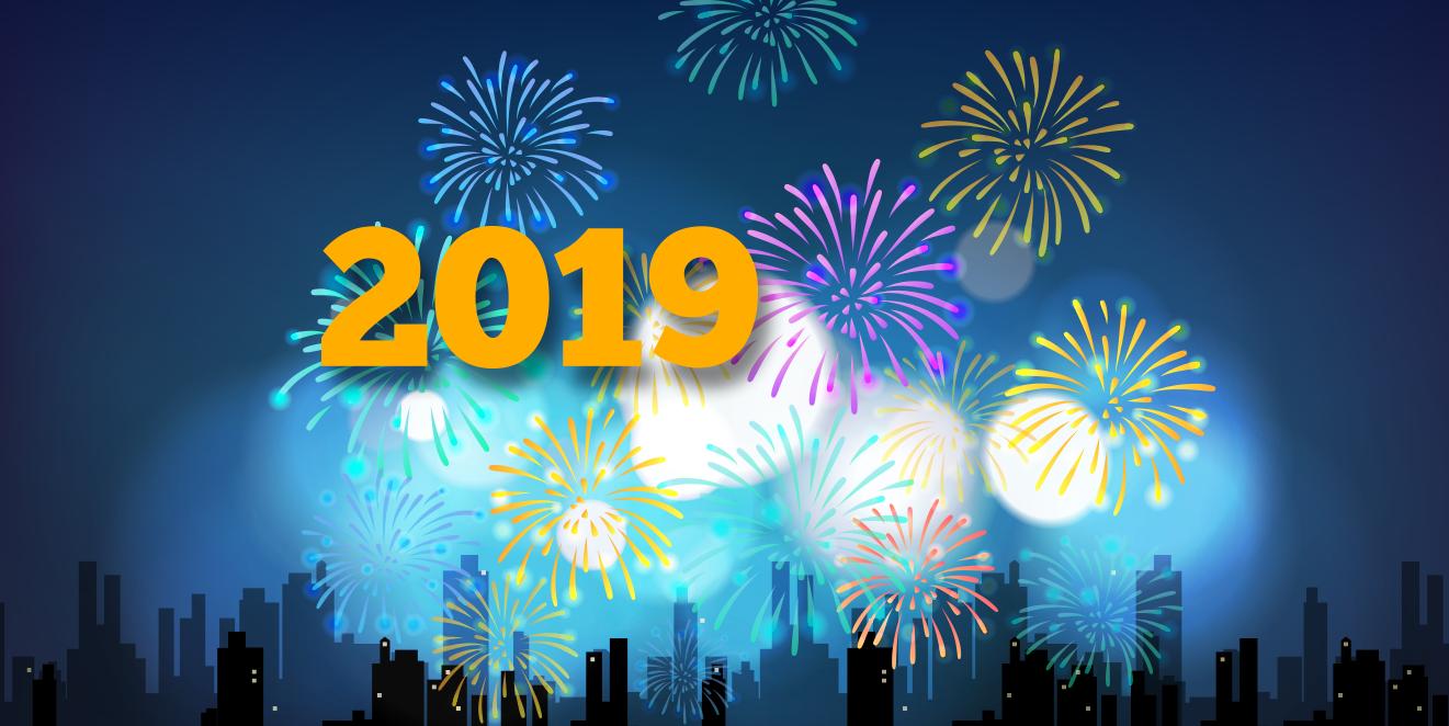 Szczęśliwego Nowego Roku 2019 !