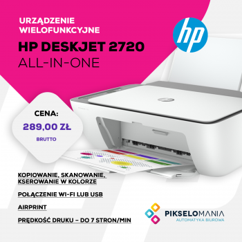 Promocja HP DeskJet 2720 All-In-One