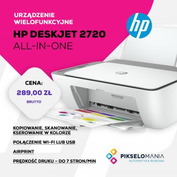 Promocja HP DeskJet 2720 All-In-One