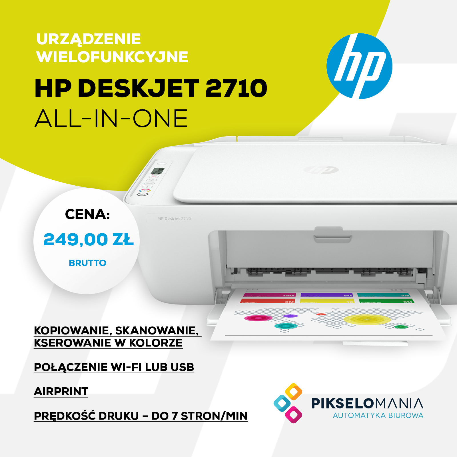Promocja HP DeskJet 2710 All-In-One