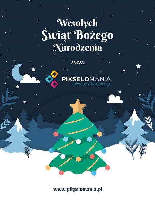 Pikselomania w Mszanie - życzenia świąteczne - grudzień 2020